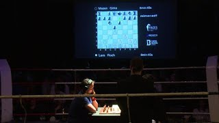 Checkmate or knock-out: chess boxing lands as a punch