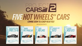 """""""Project CARS 2"""" Vehicles Become Hot Wheels Diecast Models   Hot Wheels"""