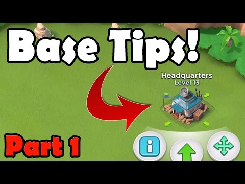 Boom Beach Base Defense Tips! - DEFEND BETTER [Part 1]