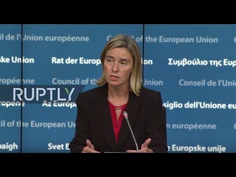 LIVE:  EU-Iraq Cooperation Council meeting - press statements