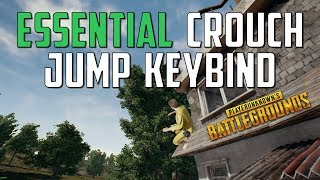 PUBG Guide: Essential Crouch Jump Keybind for EVERYONE