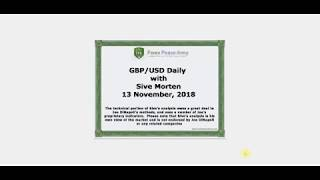 Forex Peace Army | Sive Morten GBPUSD Daily 11.13.18