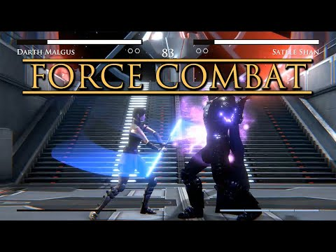 Force Combat: A Star Wars Fighting Game(fan Made). - New Ahsoka Gameplay!