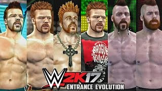WWE 2K17 - Sheamus Entrance Evolution! ( Smackdown vs Raw 2011 To WWE 2K17 )