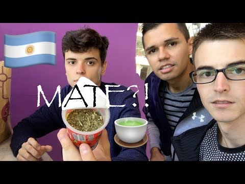 What does MATE taste like? | Buenos Aires