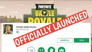 Fortnite Officially Launched For Android Download Now 🔥