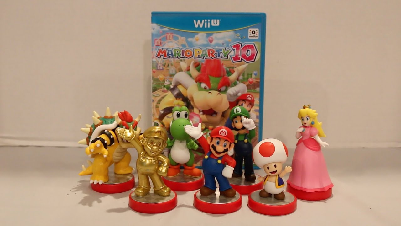 Amiibo Super Mario Series Wave 1 Unboxing Review