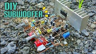TDA7294 Power Subwoofer Aktif Tanpa PCB