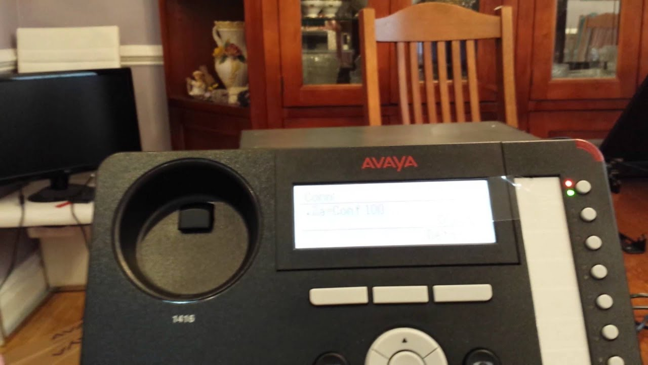 How to Make a conference call on the Avaya IP office