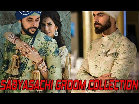 GROOMS IN DESIGNER SABYASACHI SHERWANI's || SABYASACHI MUKHERJEE GROOM COLLECTION