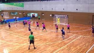 H26年 第23回JOCハンドボール大会北海道VS山形(ダイジェスト)(女子予選リーグ)