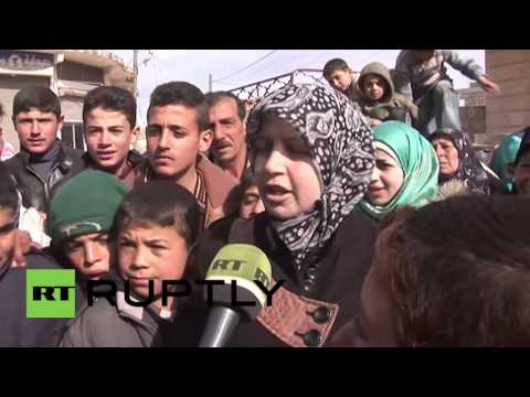Syria: Life returns to Aleppo suburbs after govt. forces repel militant siege