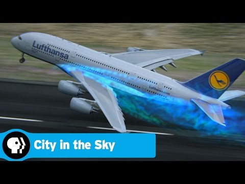 CITY IN THE SKY | World's Biggest Plane Takes Off | PBS