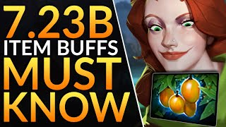 What You MUST KNOW in Patch 7.23B - HUGE CHANGES AND BUFFS - Dota 2 Meta Guide