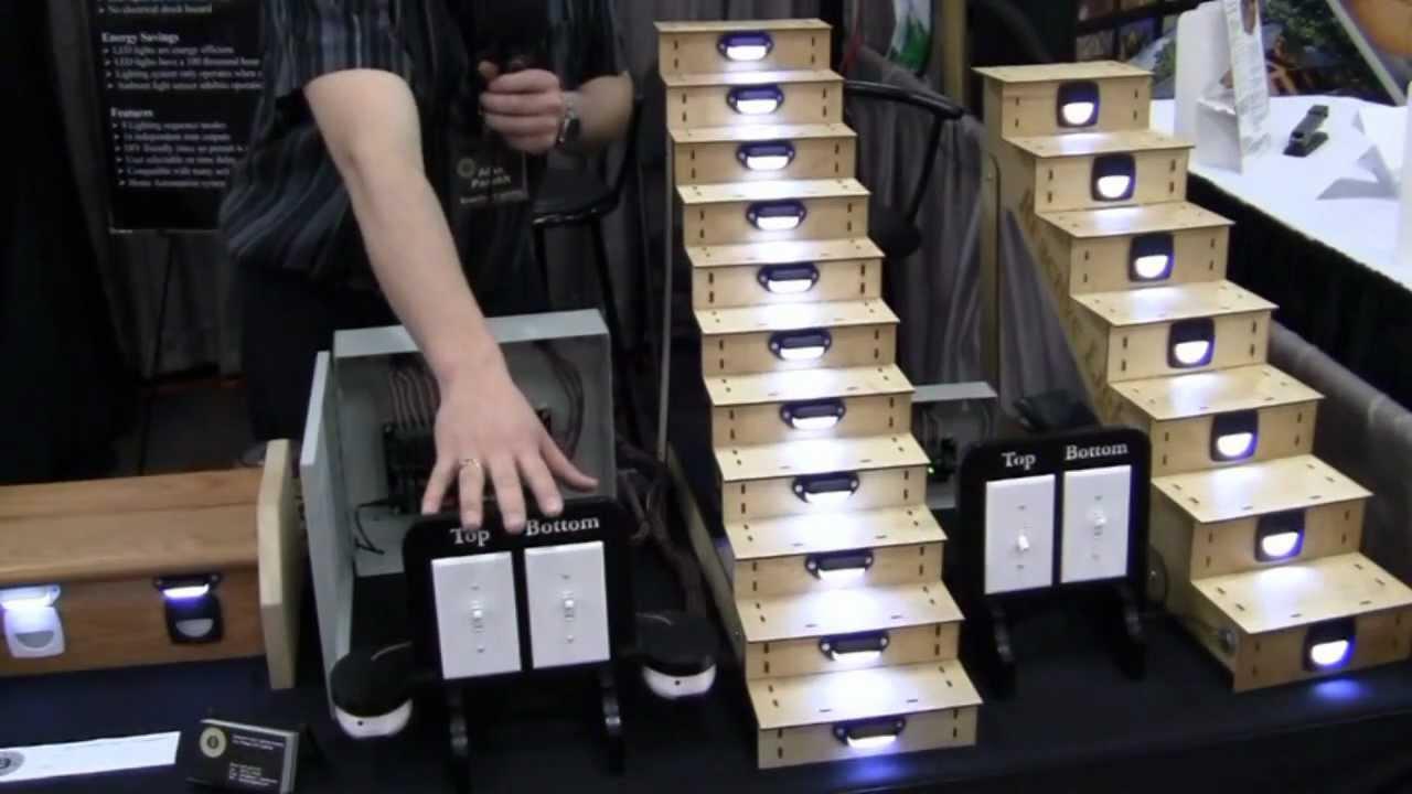 led stair lighting controller