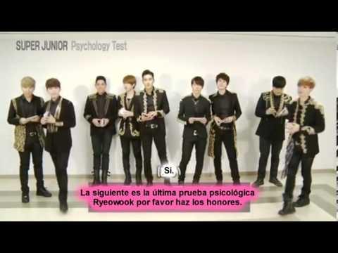 Super Junior - Test Psicológico (SS5 in JAPAN DVD)