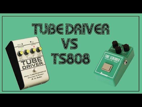 BK Butler Tube Driver vs Ibanez TS808 Tube screamer