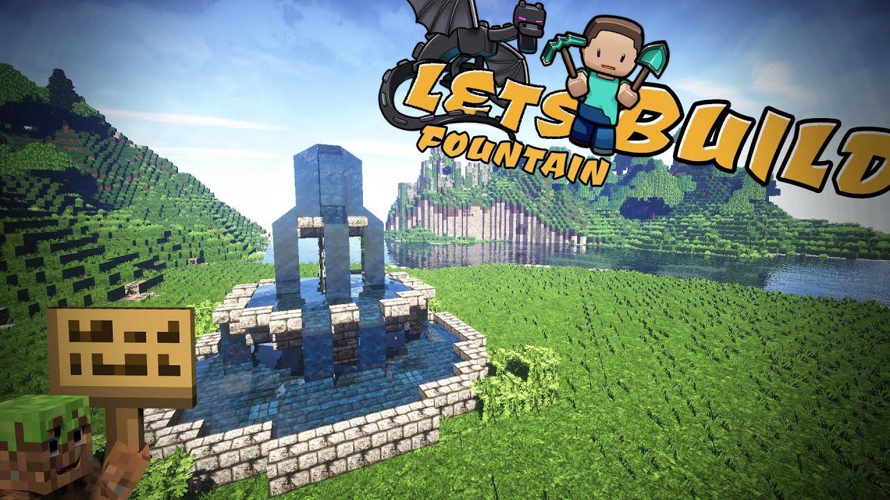 Springbrunnen Minecraft Tutorial German Youtube