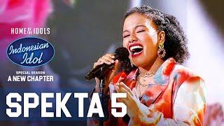 JEMIMAH - SEPARUH AKU (NOAH) - SPEKTA SHOW TOP 9 - Indonesian Idol 2021
