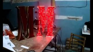 Наружная реклама  Светодиодная реклама  Объёмная буква(Наружная и внутренняя реклама в Киеве. Вывески, объёмные буквы, лайтбоксы, штендеры,поклейка витрин, поклей..., 2014-04-17T16:09:40.000Z)