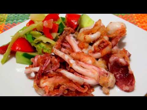 Как готовить щупальца кальмара дома