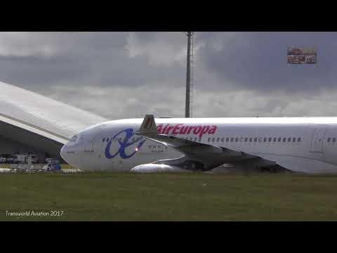 4K Air Europa Airbus A330-200 EC LVL Take off/Landing Carrasco Airport