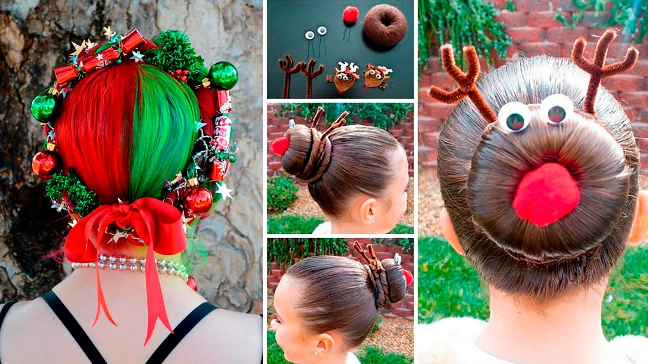 50 Of The Most Creative Christmas Hairstyles