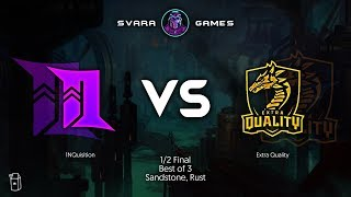 SVARA Tournament  1NQusition Vs Extra Quality