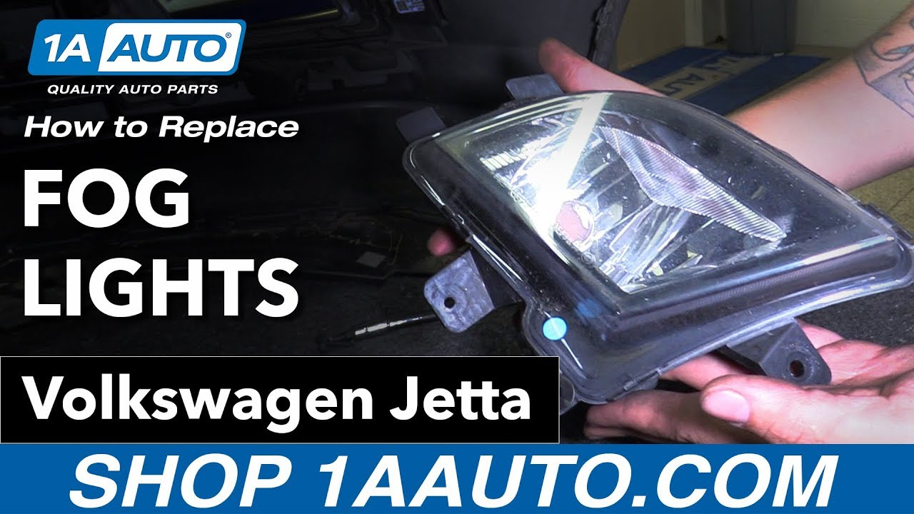 How To Replace Fog Lights 11 18 Volkswagen Jetta Youtube
