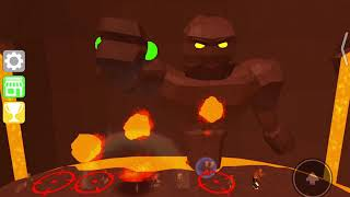 WE AGAINST THE LAVA MONSTER! -Roblox by Hilmar