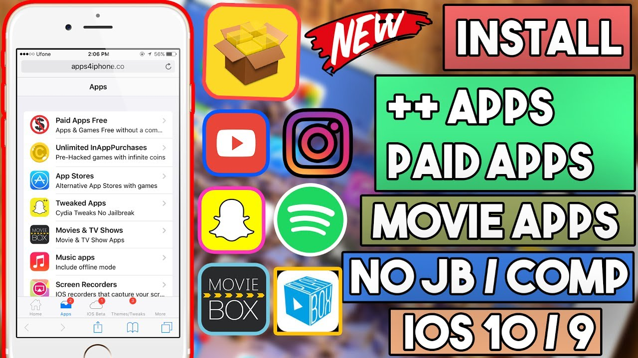 New Update Cydia Alternative Install ++ Apps / Paid Apps