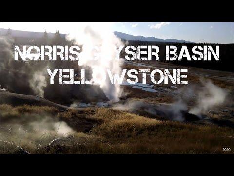 Norris Geyser Basin - Yellowstone - Summer 2016