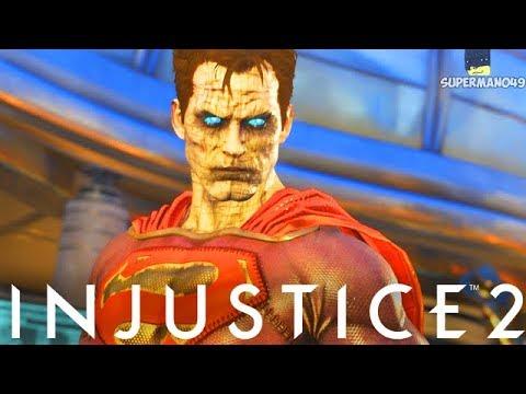 Injustice 2: ALL BIZARRO SUPERMAN INTROS! 1080P 60FPS - Injustice 2 Bizarro Intro Dialogue