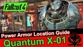 Fallout 4 - Quantum X-01 Mk.V  Power Armor Location Guide (Glitch)