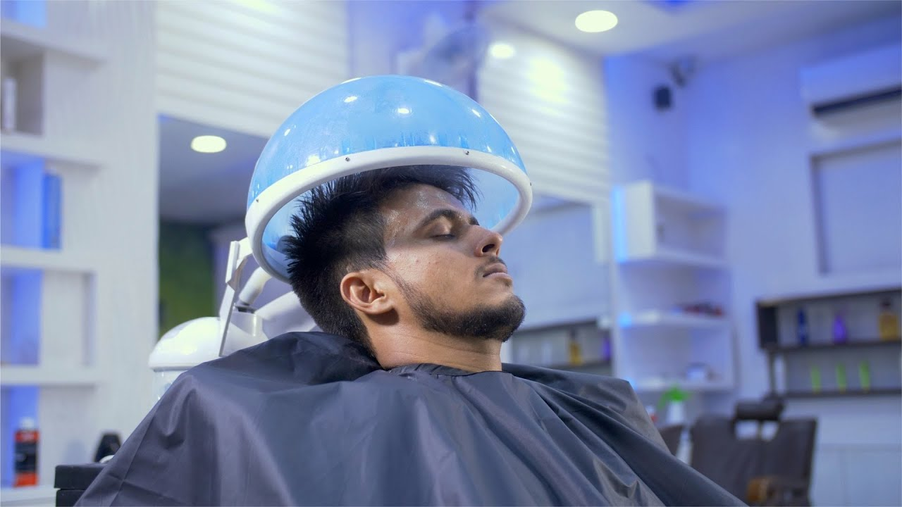 Image result for man hair spa