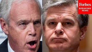 'Why Won't You Answer?': Ron Johnson Grills FBI's Christopher Wray Over Michael Sussmann Indictment