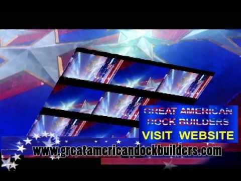 Great american dock builders tribute to america youtube for Great american builders