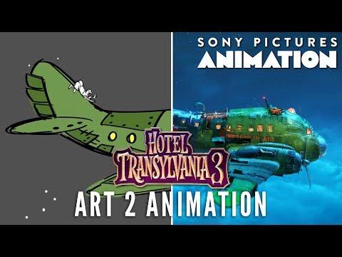 Art 2 Animation: Gremlin Air | HOTEL TRANSYLVANIA 3