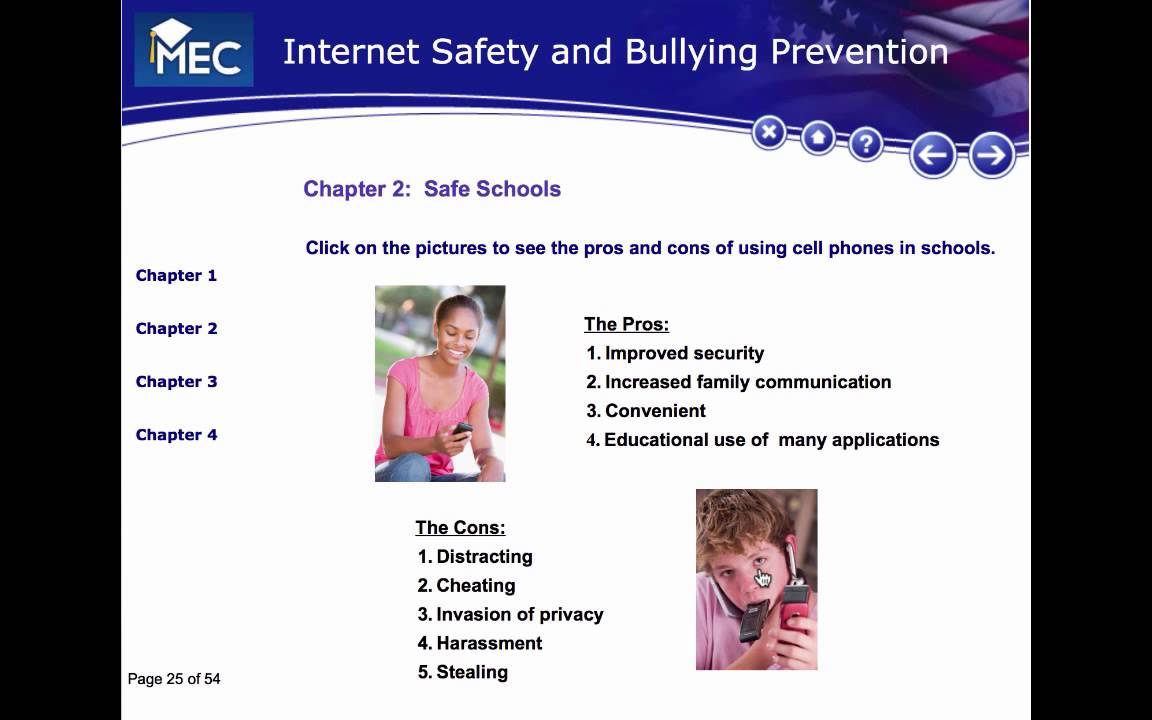 Internet Safety Lesson 8 Safe Cell Phone Use YouTube – Internet Safety Worksheets