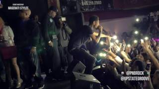 PNB Rock Performing Selfish at the Chance Theater (@Maserati_Styles...
