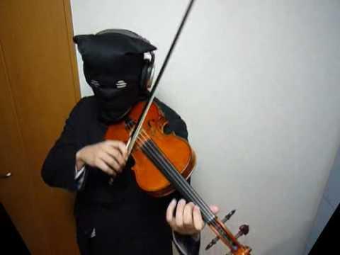 Black Rock Shooter Violin  ブラック★ロックシューター  sm6164738   HQ