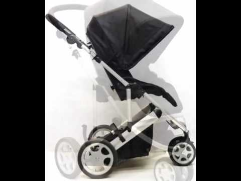 Mamas & Papas Zoom 2 in 1 Travel System - Black