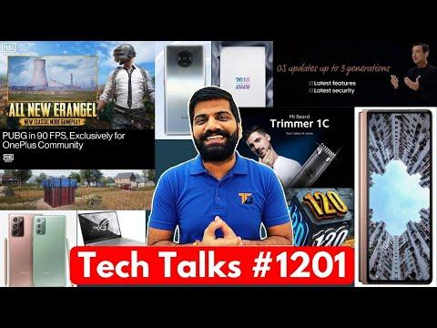 Tech Talks #1201 – Mi Trimmer 1C, Note 20 India Price, iQOO 5 Launch, OnePlus PUBG 90Hz, iPhone 12