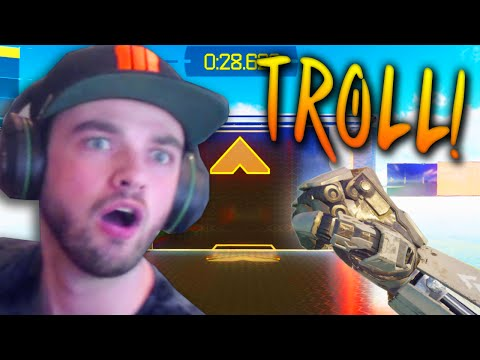 "Black Ops 3 FREE RUN w/ Ali-A - ""IS THIS A TROLL!?"""