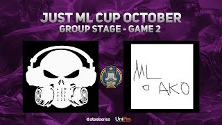 Just Ml Cup October Day 2 Execration Vs Ml O Ako Game 2 Bo3  Just Ml Mobile Legends