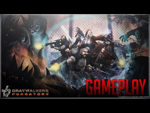 Graywalkers Purgatory - Heaven And Hell On Earth As A Turn-based RPG