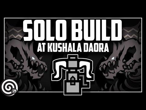 SOLO BUILD - Heavy Bowgun vs Arch Tempered Kushala Daora | Monster Hunter World thumbnail