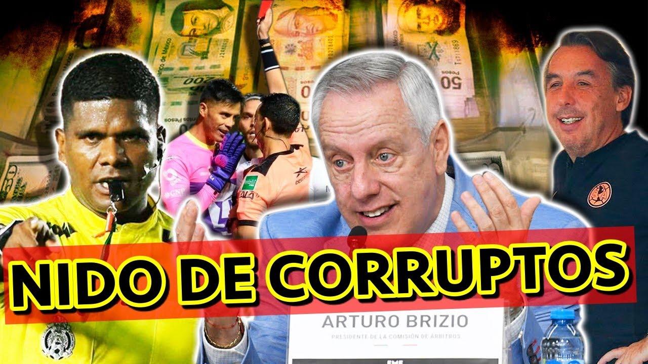 Se Destapó EL NIDO DE CORRUPCIÓN Que Hay Con Los Árbitros De La Liga MX