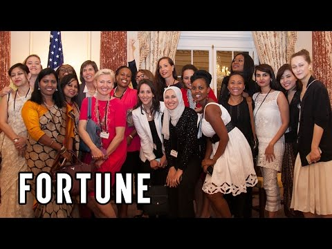Watch Most Powerful Women Execs Meet Their Mentees for the First Time I Fortune