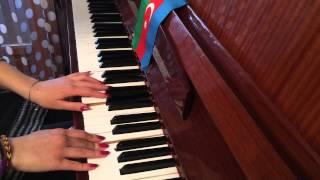 Maral En Güzel Hikayem müziği piano Azeri Fandan